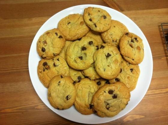 Chocolate Chip Walnut Cookies :)