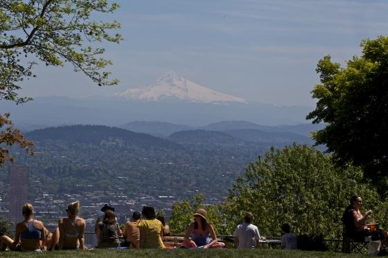 Spring Shoot for Travel Portland